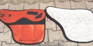 Cuscini Con Tasche Portapesi In Cuoio E Sympatex