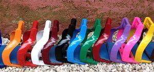 Staffe In Alluminio Colorate